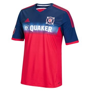 Men's adidas Chicago Fire Wordmark MLS Jersey