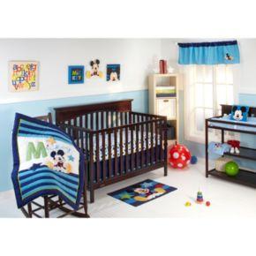 Disney Baby Mickey Mouse My Friend Mickey 4-pc. Crib Bedding Set
