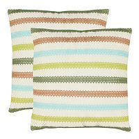 Bleeker 2 pc Throw Pillow Set