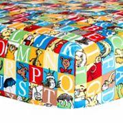 Dr. Seuss Alphabet Seuss Squares Crib Sheet by Trend Lab