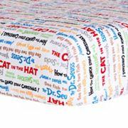 Dr. Seuss Titles Crib Sheet by Trend Lab