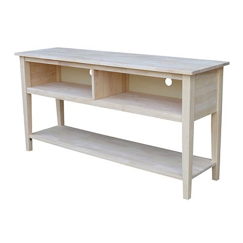 International Concepts 60'' TV Stand