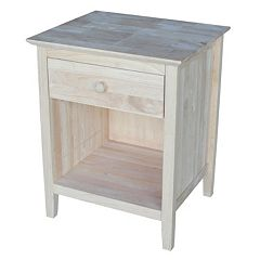 International Concepts 1-Drawer Nightstand
