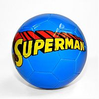DC Comics Superman Logo Soccer Ball