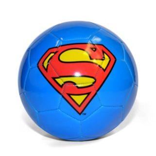 DC Comics Superman Logo Soccer Ball