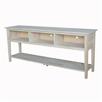 International Concepts 72'' TV Stand