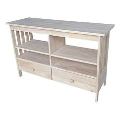 International Concepts Mission TV Stand