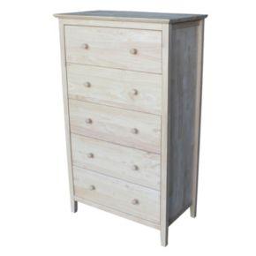 International Concepts 5-Drawer Dresser