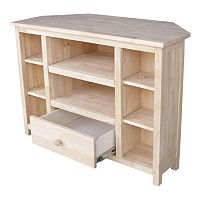 International Concepts Corner TV Stand