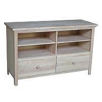 International Concepts Two Drawer TV Stand