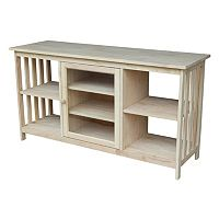 International Concepts Mission Cabinet TV Stand