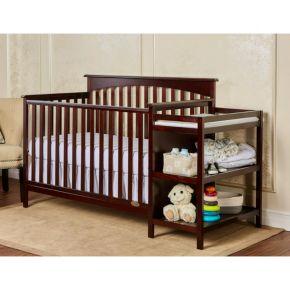 Dream On Me Chloe 5-in-1 Convertible Crib & Changer