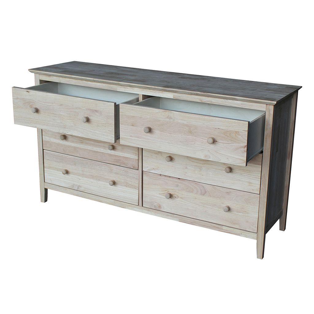 International Concepts 6-Drawer Dresser