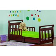 Dream On Me Wood Sleigh Toddler Bed