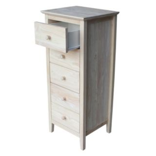 International Concepts 5-Drawer Lingerie Dresser
