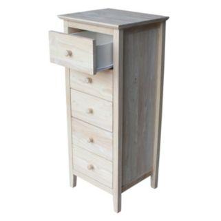 International Concepts 5-Drawer Lingerie Dresser
