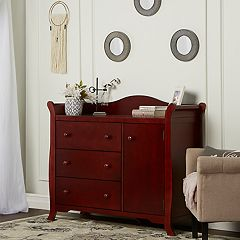 Dream On Me Back Bay 3-Drawer Combo Dresser