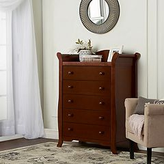 Dream On Me Alissa 5-Drawer Sleigh Chest