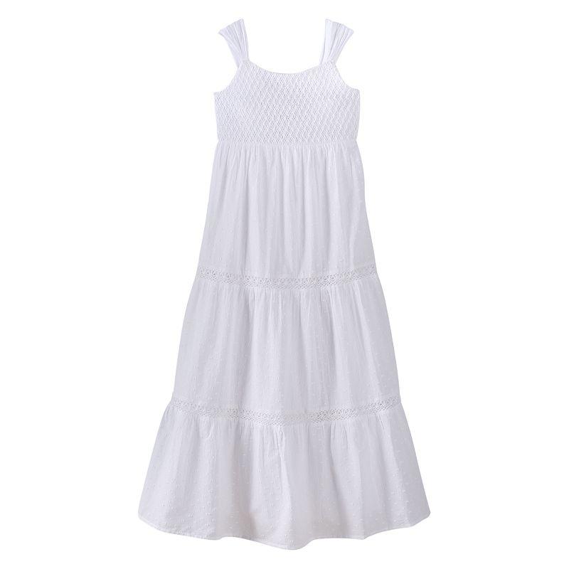 Speechless Crochet Maxi Dress - Girls 7-16