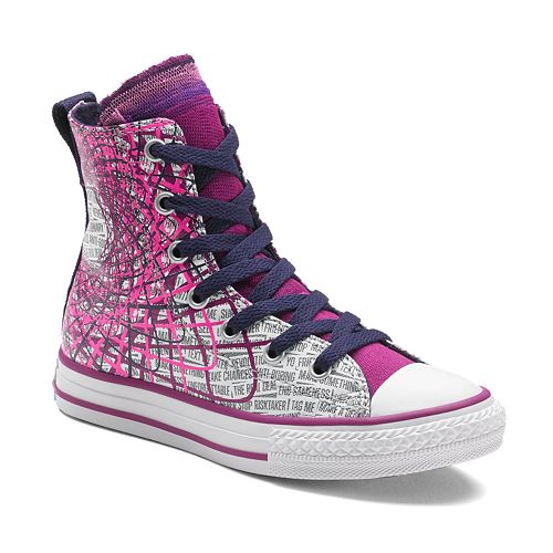 b891b186755b7e Kid s Converse All Star Party Paint Splatter High-Top Sneakers