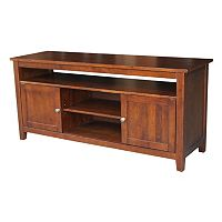 International Concepts Two Door TV Stand