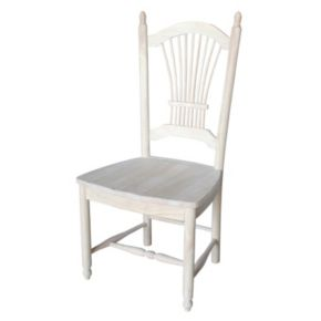 International Concepts 2-piece Sheaf Back Chair Set