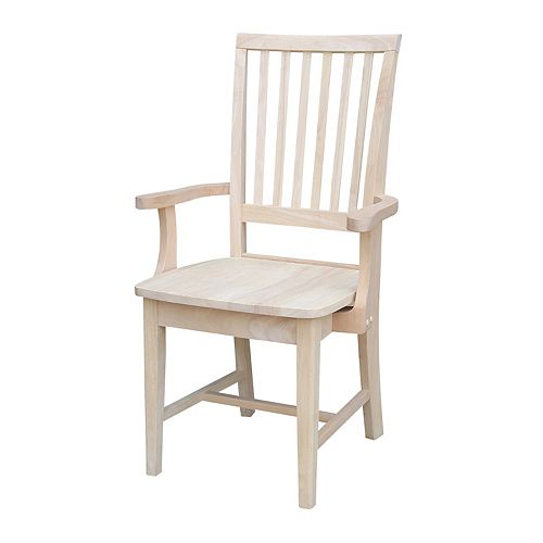 International Concepts Mission Side Chair