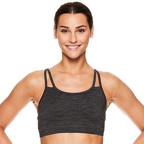 Gaiam Shine Wire-Free Medium-Impact Yoga Sports Bra