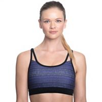 Gaiam Bra: Shine Wire-Free Low-Impact Yoga Sports Bra