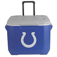 Coleman Indianapolis Colts 60-Quart Wheeled Cooler