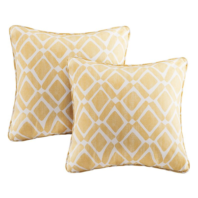 Kohls Yellow Throw Pillow : Polyester Throw Pillow Set Kohl s