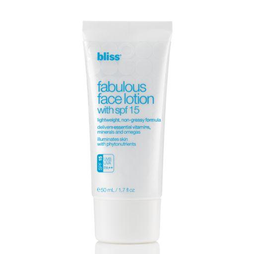 bliss Fabulous Face Lotion SPF 15