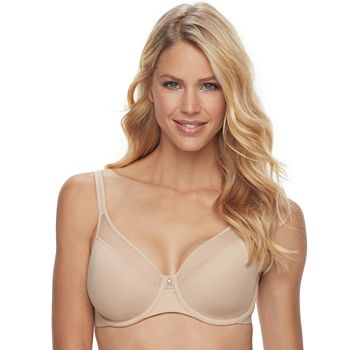 b24dc2f365689 Bali Bra  One Smooth U Ultra Light Illusion Convertible Full-Coverage Bra  3439