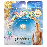 Disney's Cinderella Wedding Celebration Tiara & Ring Set