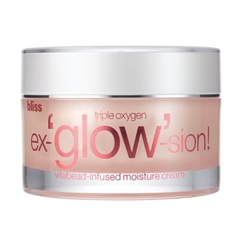 bliss Triple Oxygen Ex-'glow'-sion Vitabead-Infused Moisture Cream