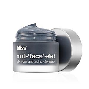 bliss Multi-u2018faceu2019-eted All-In-One Anti-Aging Clay Mask