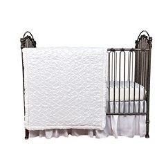 Trend Lab Marshmallow 3 pc Crib Bedding Set
