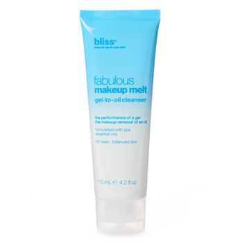 bliss Fabulous Makeup Melt Gel-to-Oil Cleanser
