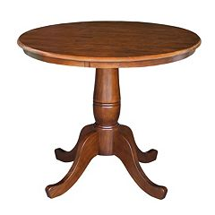 International Concepts 30'' Round Pedestal Table