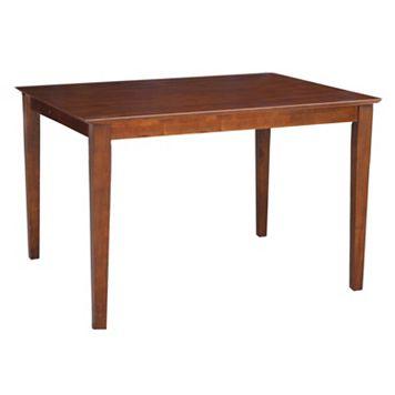 International Concepts Shaker Leg Table