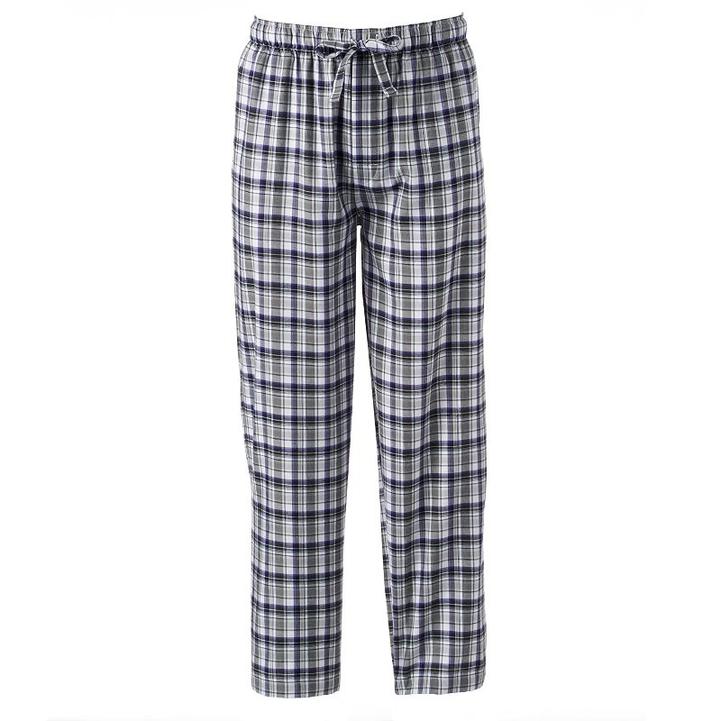 IZOD Plaid Woven Twill Lounge Pants - Men