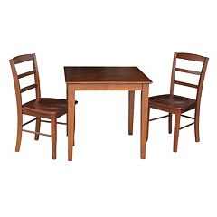 International Concepts 3 pc Dining Set