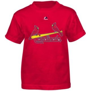 Majestic St. Louis Cardinals Yadier Molina Tee - Boys 4-7