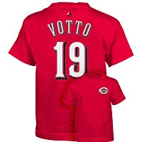 Boys 4-7 Majestic Cincinnati Reds Joey Votto Tee
