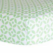 Trend Lab Print Crib Sheet