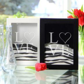 Cathy's Concepts 3-piece Love Sand Ceremony Shadowbox Set