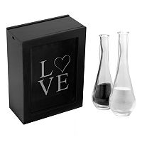 Cathy's Concepts 3-piece Love Sand Ceremony Shadowbox Set