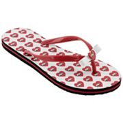 Arkansas Razorbacks Women's Flip Flops