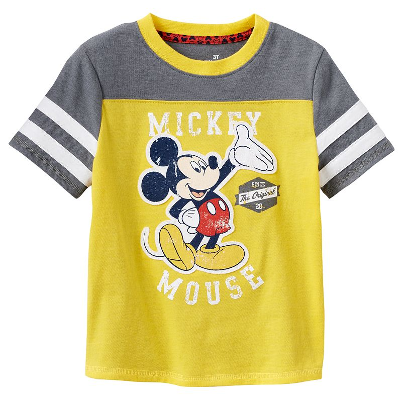Disney's Mickey Mouse Striped Tee by Jumping Beans - Toddler Boy