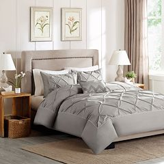 Madison Park Ella 4 pc Percale Duvet Cover Set